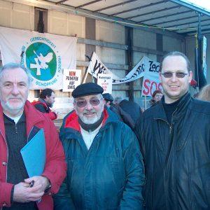Klaus Friedrichs, Willi Nosbisch, Ludger Ernsting, die drei SPD Ratskandidaten für Spellen
