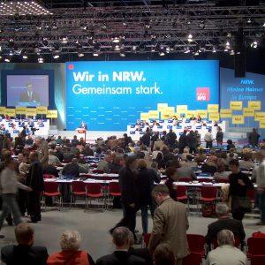 SPD Landesparteitag 2004 in Bochum