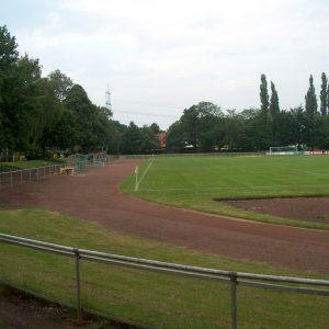 """Die Sportanlage """"Am Tannebusch"""" der SV 08/29 Friedrichsfeld"""